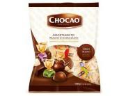 Mix pralinek z mléčné čokolády plněné krémem různých příchutí 1kg