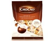 Pralinky z mléčné čokolády plněné krémem s příchutí Latte 1kg