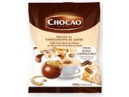 Pralinky z mléčné čokolády plněné krémem s příchutí Cappuccino 1kg