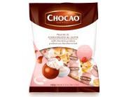 Pralinky z mléčné čokolády plněné jogurtovo-jahodovým krémem 1kg