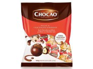 Pralinky z hořké čokolády plněné lískooříškovým krémem 1kg