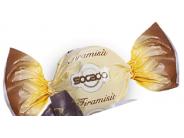 Pralinky z mléčné čokolády s krémem s příchutí tiramisu 1kg