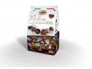 Mix pralinek z mléčné čokolády - různé náplně 1kg