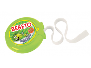 Bebeto Roll 40g jablko žvýkačka s tetováním dlouhá 1m