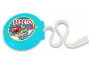Bebeto Roll 40g Tutti Frutti žvýkačka s tetováním dlouhá 1m