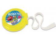 Bebeto Roll 40g Tropic žvýkačka s tetováním dlouhá 1m